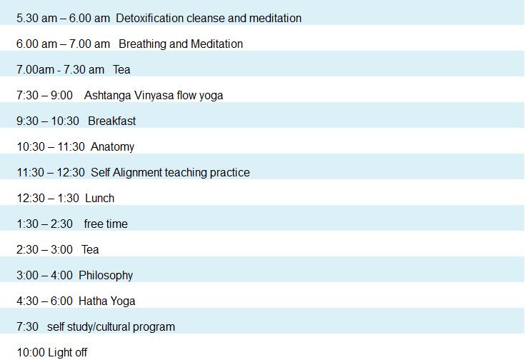 daily-class-scedule